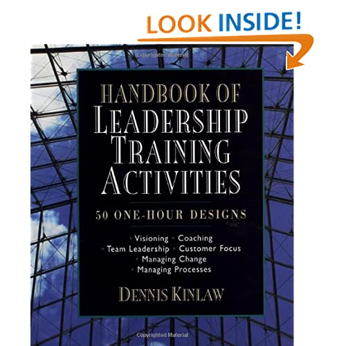 leadership activity training Anyone involved in a leadership position in management will tell you that there is a tremendous amount of leadership activities involved.