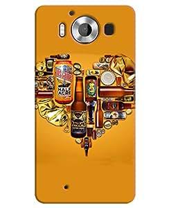 FurnishFantasy 3D Printed Designer Back Case Cover for Microsoft Lumia 950,Microsoft Lumia 950 Dual Sim