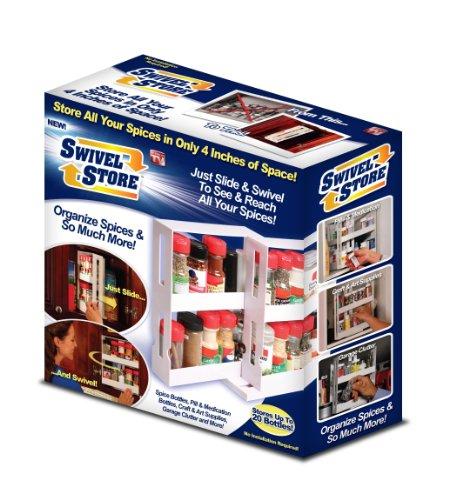 Swivel Store Organizer Storage System