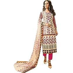 Supreets Boutique Women's Cotton Dress Material (sup03_Multi)