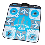 DDR Dance Revolution Pad Non-Slip Dance Mat,X-treme dance mat pad for Nintendo Wii