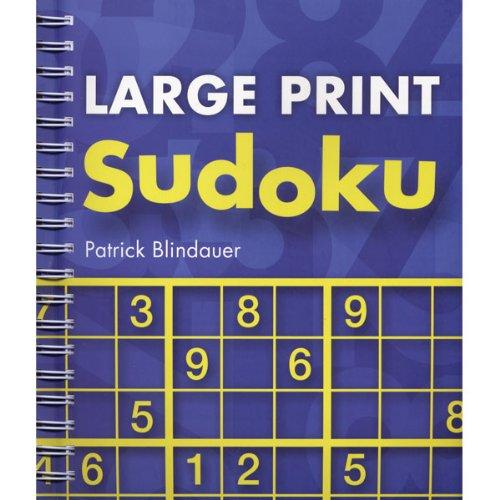 Cheap Sterling Publishing Large Print Sudoku Puzzle Book (B004USH6KU)