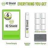 Garmin Vivoactive Screen Protector, IQ Shield® LiQuidSkin (6-Pack) Full Coverage Screen Protector for Garmin Vivoactive HD Clear Anti-Bubble Film - with Lifetime Warranty