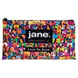 Jane Cosmetics Giving Back Makeup Bag, Friends of Jane, 500 Ounce