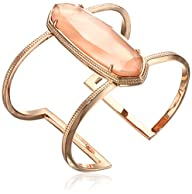 Kendra Scott Lawson Rose Gold Cuff Br…