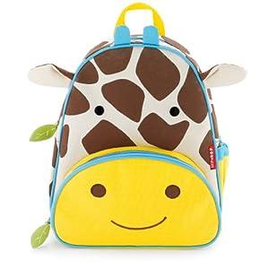 Skip Hop Zoo Packs Little Kid Backpacks, Giraffe