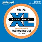 51hoCCXxnoL. SL160  DAddario EXL160 Nickel Wound Bass Guitar Strings, Medium, 50 105, Long Scale