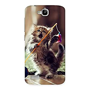 Cute Dancing Cats Back Case Cover for Honor Holly