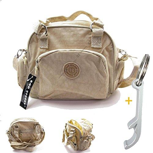 # 1861Handbag/Shoulder Bag Street Casual Crinkle Nylon