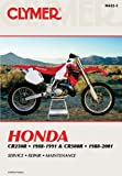 Clymer Staff Honda CR250R 88-91 & CR500R 88-01 (Clymer Manuals: Motorcycle Repair)