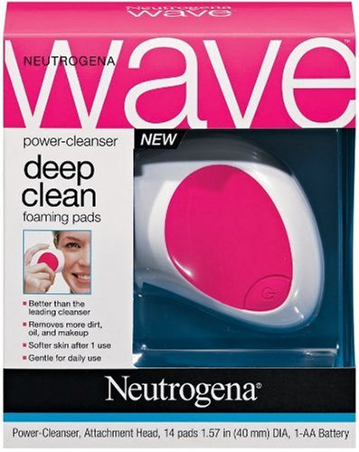 Neutrogena Wave Power-Cleanser And Deep Clean Foaming Pads front-414894
