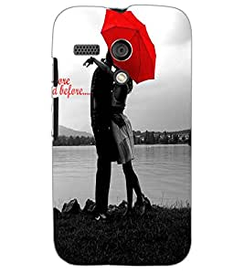 MOTOROLA MOTO GLOVE COUPLE Back Cover by PRINTSWAG