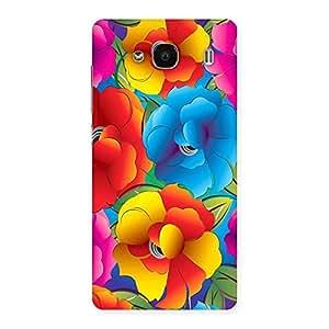 Flower Art Print Back Case Cover for Redmi 2