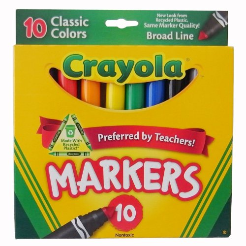 Crayola Classic Colors Markers Assorted Colors Boxed - 1