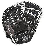 Louisville Slugger FGHDWT5 HD9 White Fielding Glove (Catcher), Right Hand Throw, 33 1/2 Inch/Black White