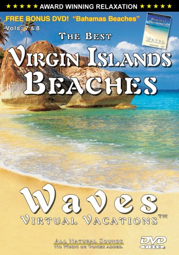 The Best Virgin Islands Beaches / WAVES: Virtual Vacations + Vol 7. Bahamas Beaches (SIDE 2) DVD - COMBO