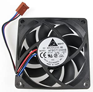 DELTA DC BRUSHLESS FAN AFB0712HHB DC12V 0.45A, 3-WIRE, 70x15mm