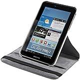 kwmobile Hülle 360° für Samsung Galaxy Tab 2 7.0 Case mit Ständer - Schutzhülle Tablet Tasche mit Standfunktion in Weiß