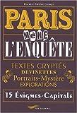 echange, troc Frédéric Georget, Pascale Georget - Paris mène l'enquête