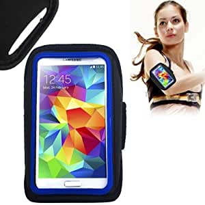 Sports Armband Case for Samsung Galaxy S4 i9500 i9300 (Blue)