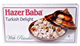 Hazer Baba Turkish Delight With Pistachio, 16oz