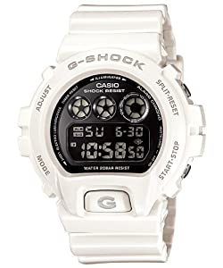 Casio G-shock Chrono 20 Bar Mirror Dial Mens Watch DW6900NB-7