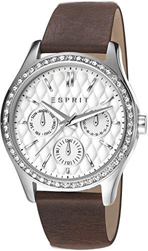 Esprit ES107922001 - Reloj de cuarzo para mujer, correa de cuero