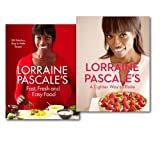 Lorraine Pascale Lorraine Pascale's Fast, Fresh, Easy Food and A Lighter Way to Bake 2 Books Collection Set