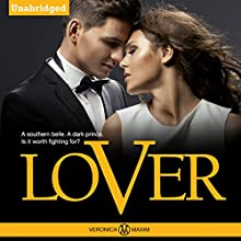 LOVER: A Bad Boy Alpha Billionaire Contemporary Romance Book: The Smyth Sisters Series Audiobook by Veronica Maxim Narrated by Maren McGuire