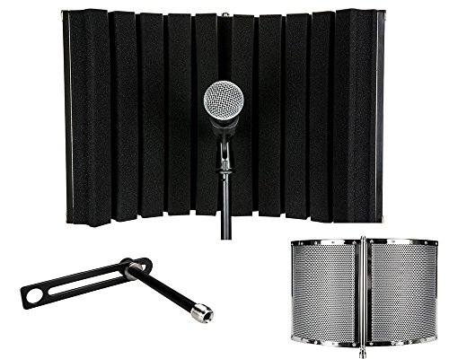 Talent VB1 Folding Portable Vocal Isolation Booth (Sound Booth Portable compare prices)