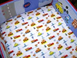 "Disney Cars ""Little Racer"" Crib Sheet"