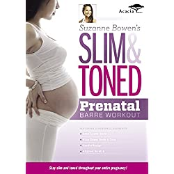 Suzanne Bowen's Slim And Toned Prenatal Barre Workout [DVD] [Edizione: Regno Unito]