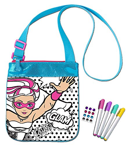 Tara Toy Barbie Princess Power Color N' Style Purse Playset