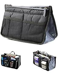 Multi-Purpose Travel Nylon Hand Makeup / Cosmetic Organizer Pouch Bag ( Multi Colour )
