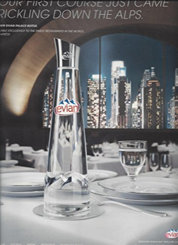 print-ad-for-2007-evian-water-your-first-course-just-came-trickling-down-the-