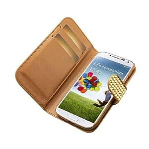 Reiko Diamond Flip Case Samsung Galaxy S4 Gold