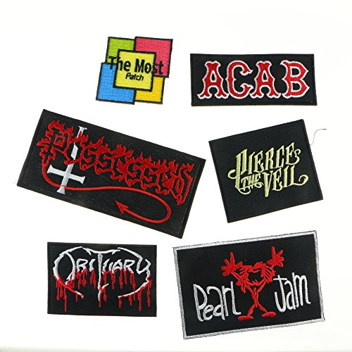 lot-of-6-5-1-possessed-acab-pierce-the-veil-obituary-pearl-jam-band-heavy-metal-rock-punk-music-logo