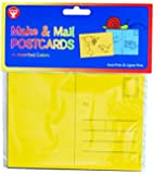 "Mighty Bright Make and Mail Postcards 4""X5.5"" 25/Pkg-Assorted Bright Colors"