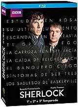 Sherlock - Temporadas 1+2+3 [Blu-ray]