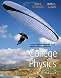 img - for College Physics, Student Solutions Manual & Study Guide, Volume 1 by John R Gordon (2010-11-19) book / textbook / text book