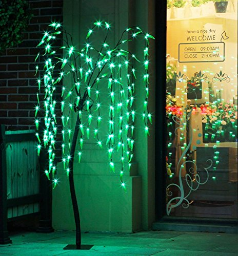 Fashionlite 5.5-Feet  200 LED Willow Light Xmas Tree,Brown (Lighted Led Tree compare prices)