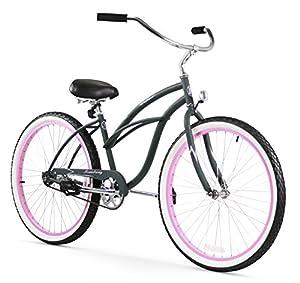 Amazoncom  Firmstrong Urban Lady Single Speed Beach Cruiser Bicycle 26Inc
