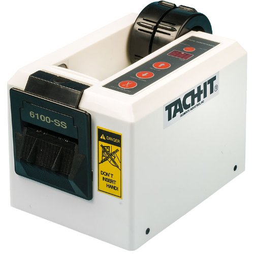 Tach-It 6100-Ss Semi-Automatic Definite Length Tape Dispenser