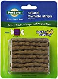 PetSafe Busy Buddy Refill Strip Dog Treats for select Busy Buddy Dog Toys, Natural Rawhide, Medium/Large