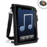 USA Gear Mobile Messenger Tablet Bag & In-Car Viewing Travel Case with Touch Capacitive Screen- Will fit Hipstreet 9