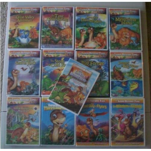Land Before Time Complete Series DVD Box Set I XIII (1 13) The Complete 13 Movie Dino Pack Individually Packaged