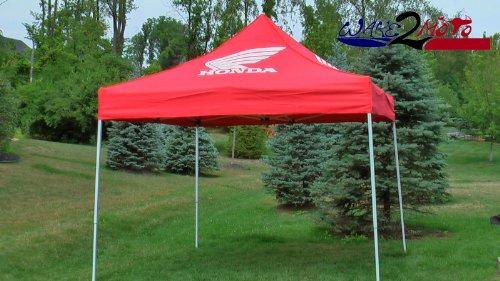 Honda Racing Tent Canopy Ezup Pit Track Paddock Motocross Sportbike Race & Great Discount Honda Racing Tent Canopy Ezup Pit Track Paddock ...