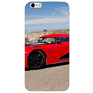 BetaDesign Cars Back Cover, Designer Cover for iphone 6 (Multicolor)