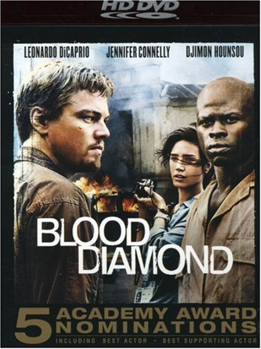 Cover art for  Blood Diamond [HD DVD]