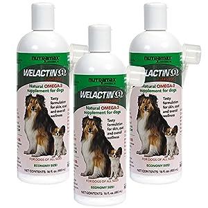 3PACK Welactin Natural Omega3 Supplement ECONOMY SIZE (1.44 L)